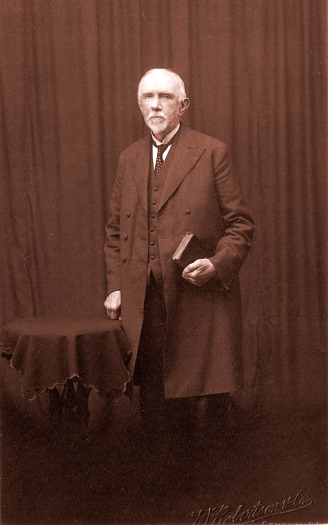 John Brown, baker and lay preacher circa 1910