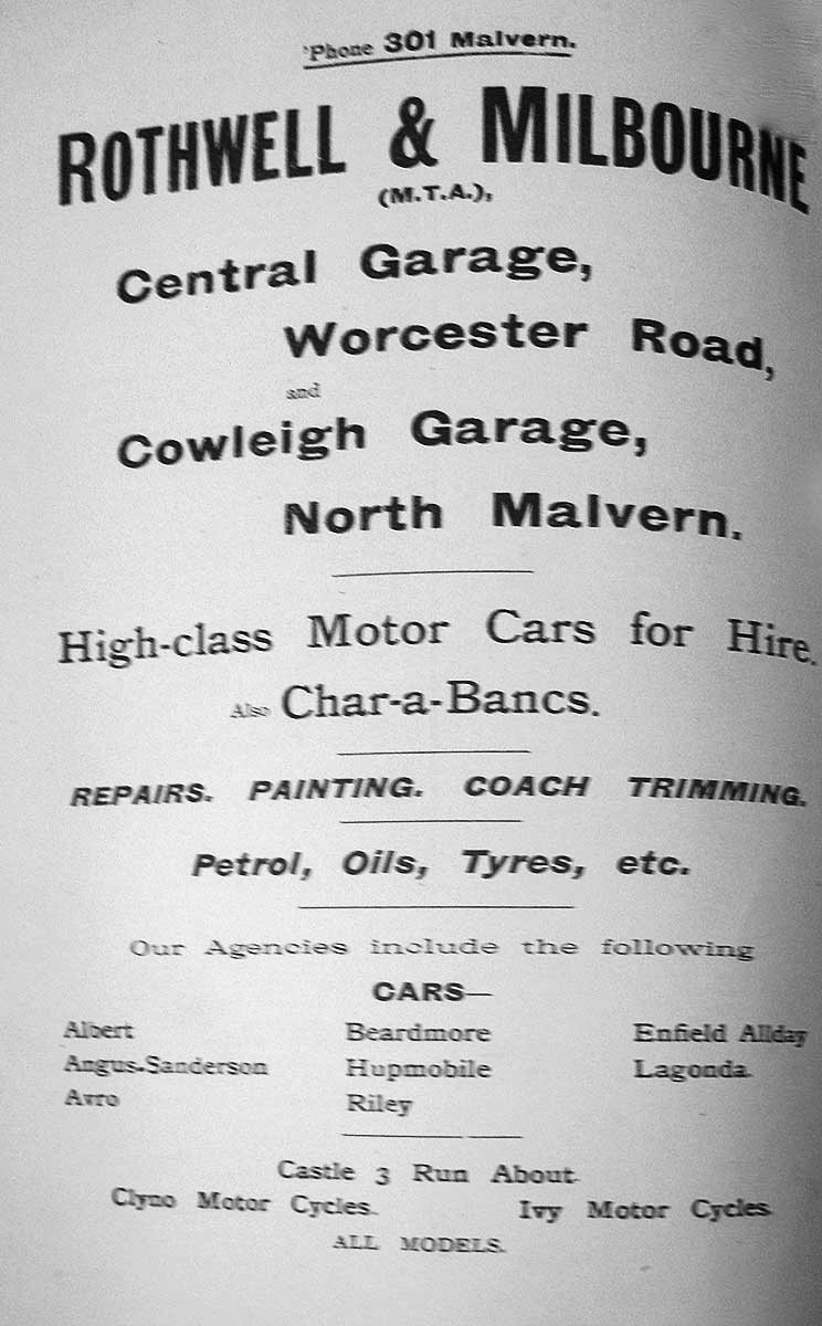 Advertisement for RM 1920