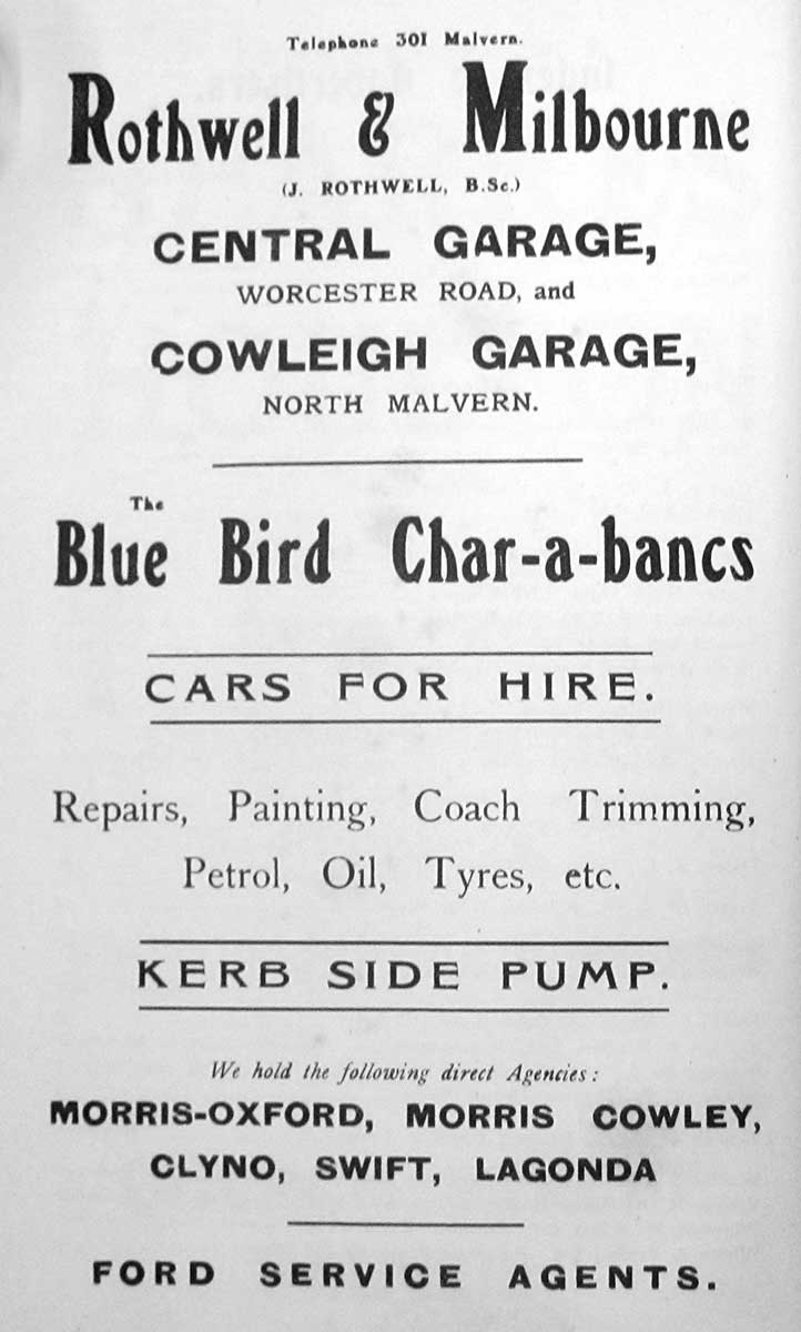 Advert for RM 1923