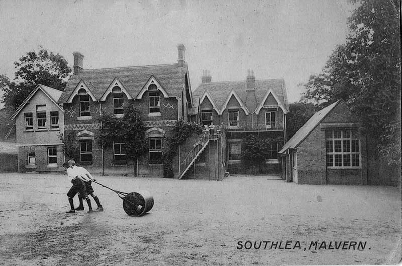 Rear of Southlea school circa 1917