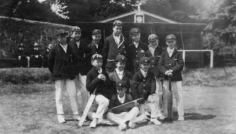 Southlea cricket team circa 1917