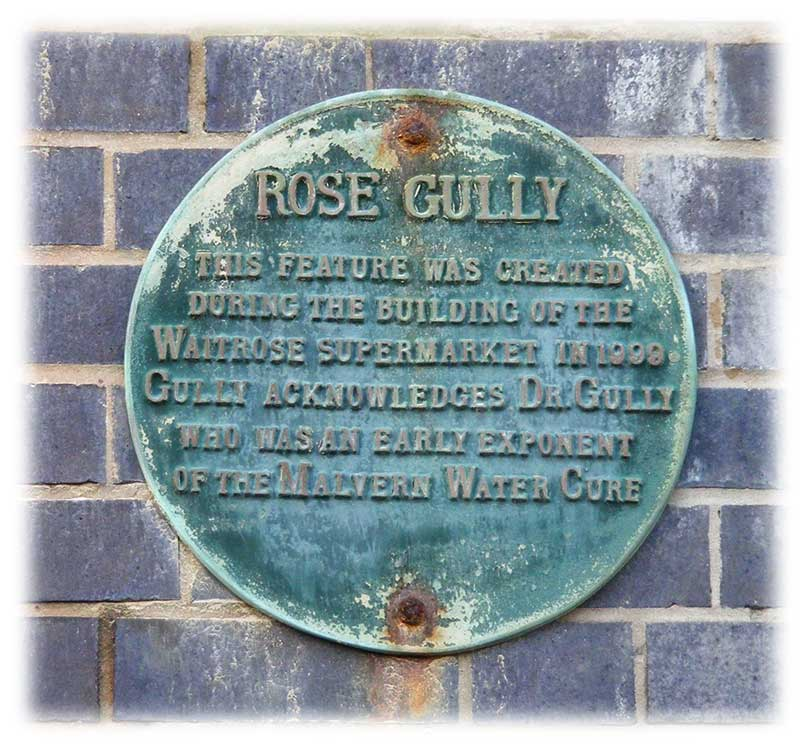 Rose Gully plaque