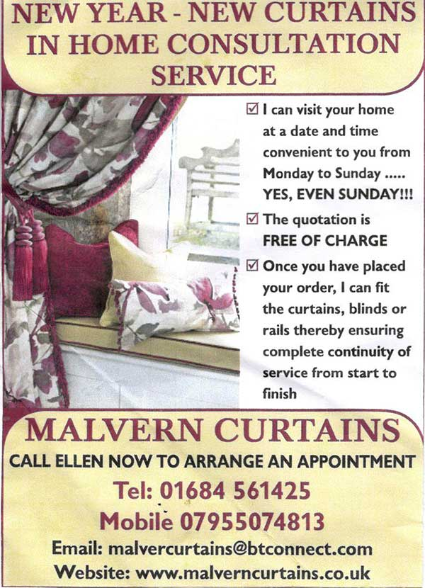 Curtains ad