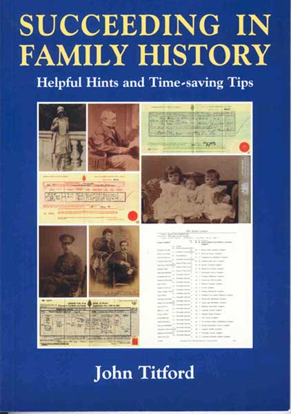 Succeeding in FAmily History - front cover
