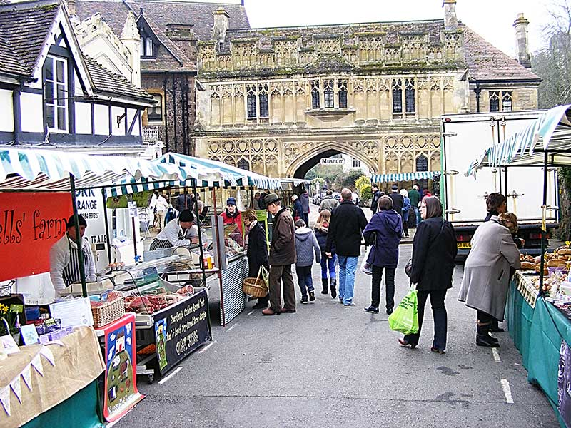 Great Malvern farmers' market