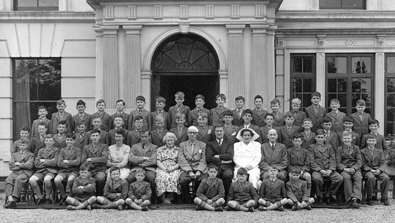 Hill school group photo circa 1953