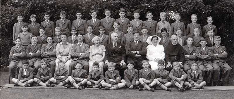 Hill school group photo circa 1956