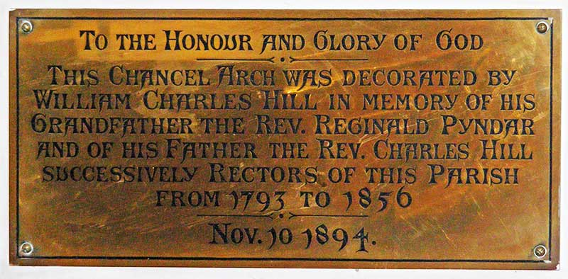 Charles Hill plaque