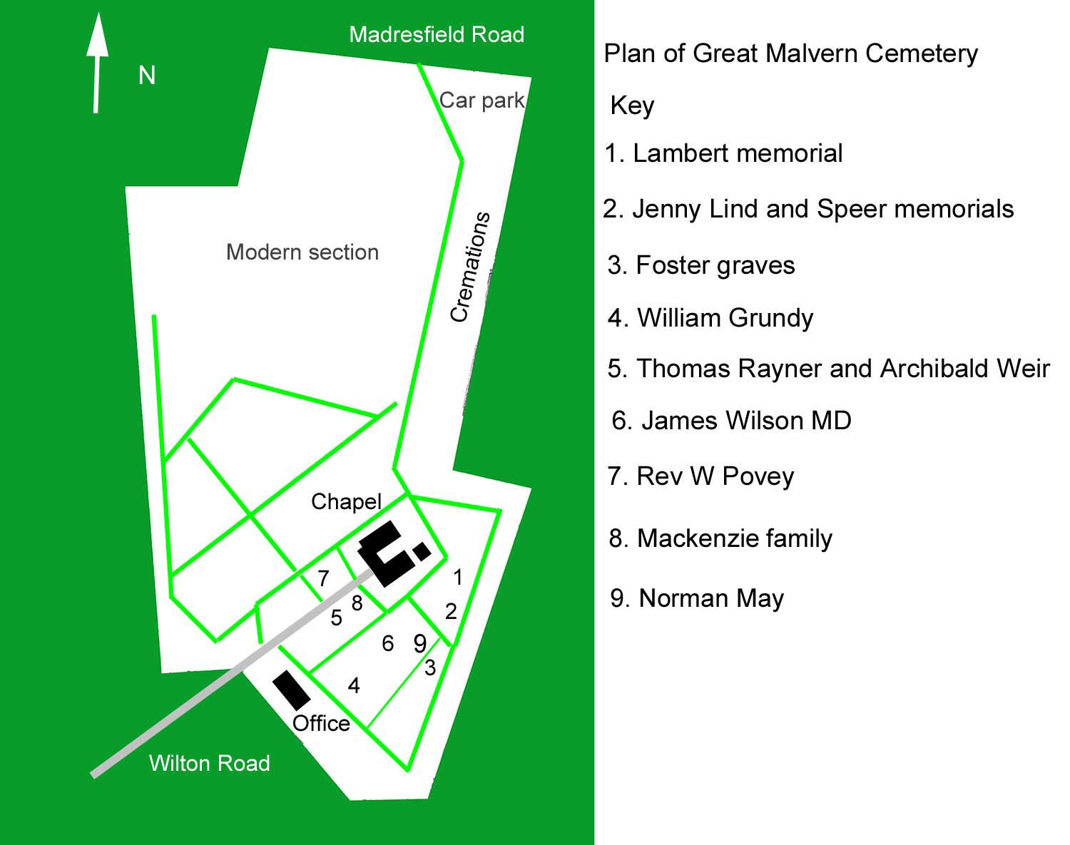 The history of Great Malvern municipal cemetery - overview