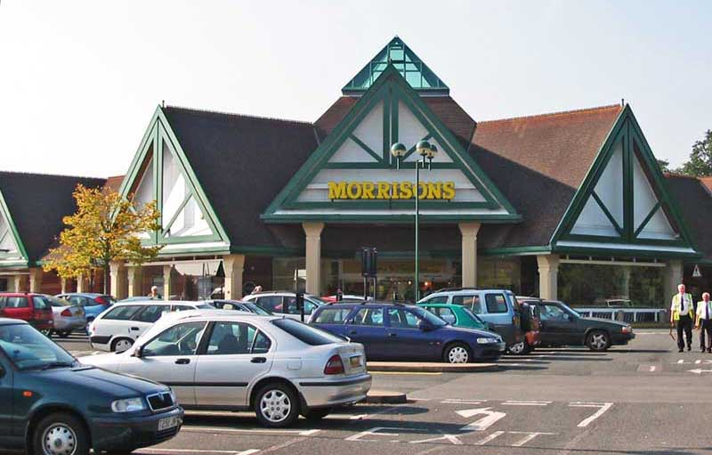 Morrisons supermarket at Madford retail park