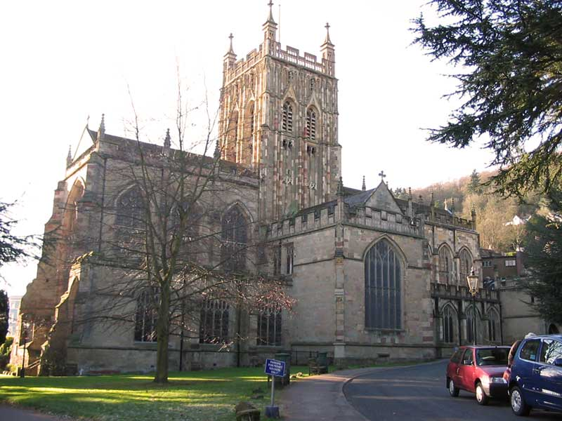 Malvern Priory - 2009