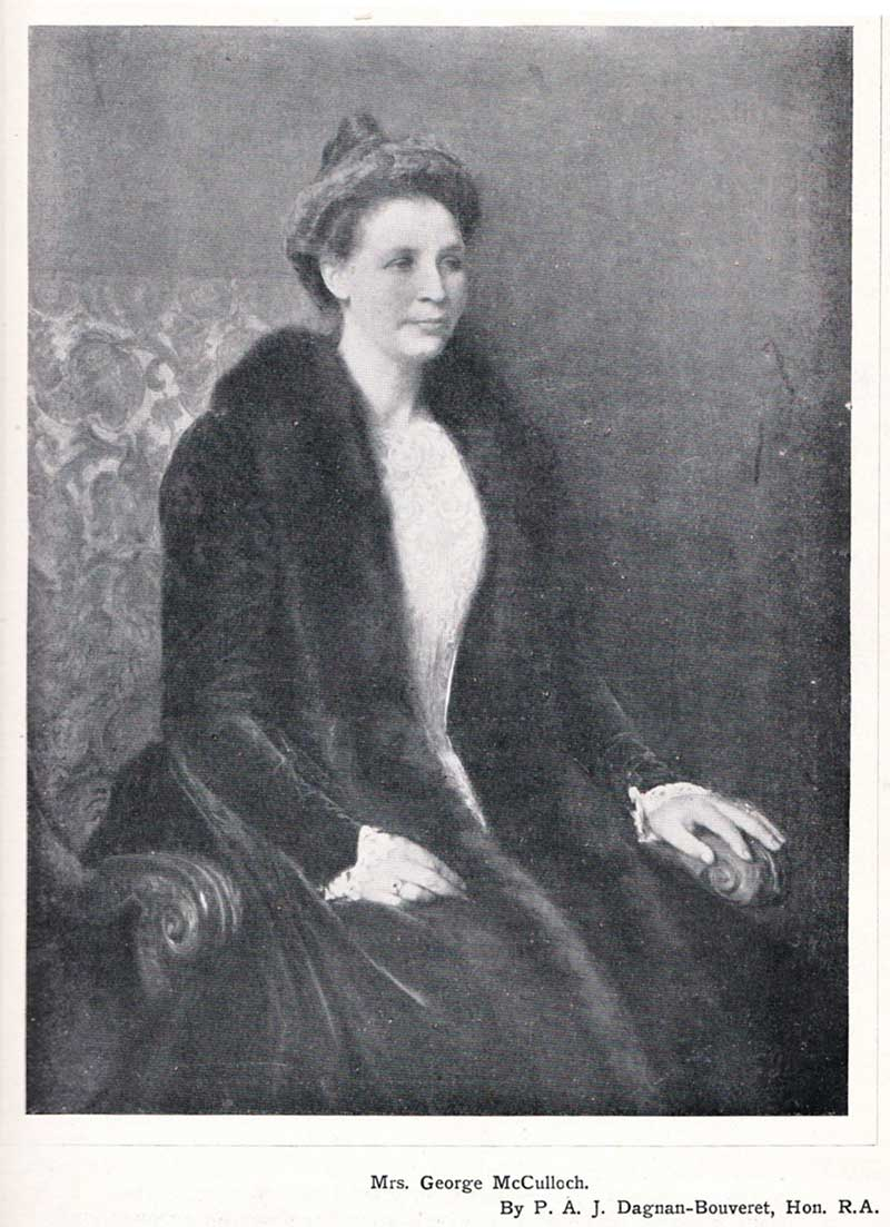 Mrs George McCulloch