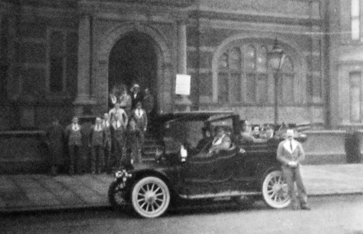 Car outside Michie hospital