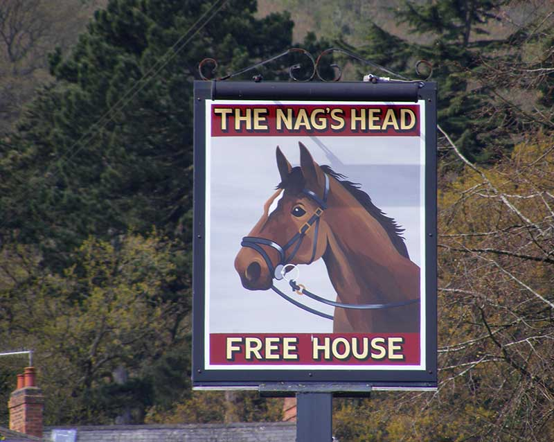 Nags Head sign