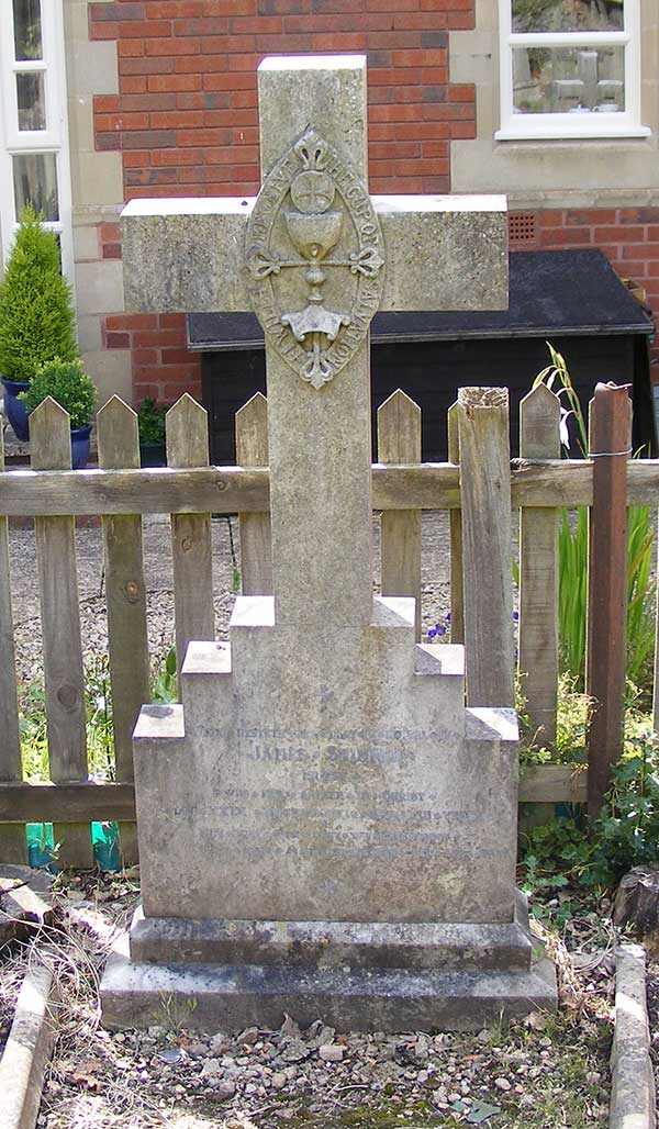 Grave of Rev James Skinner