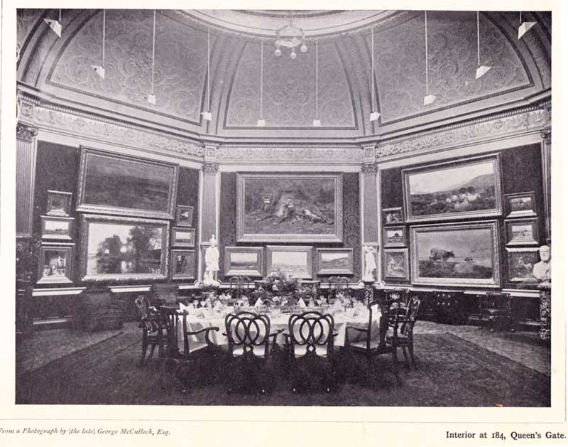 Dining room at 184 Queens Gate