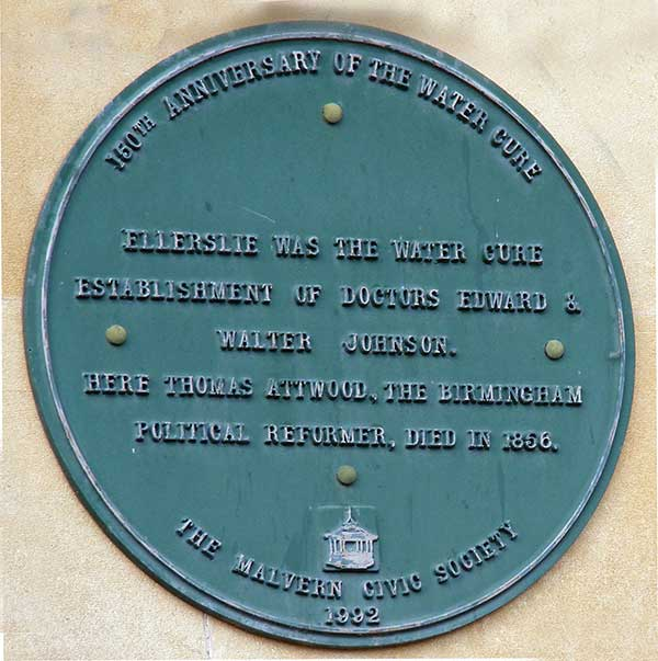 Ellerslie plaque