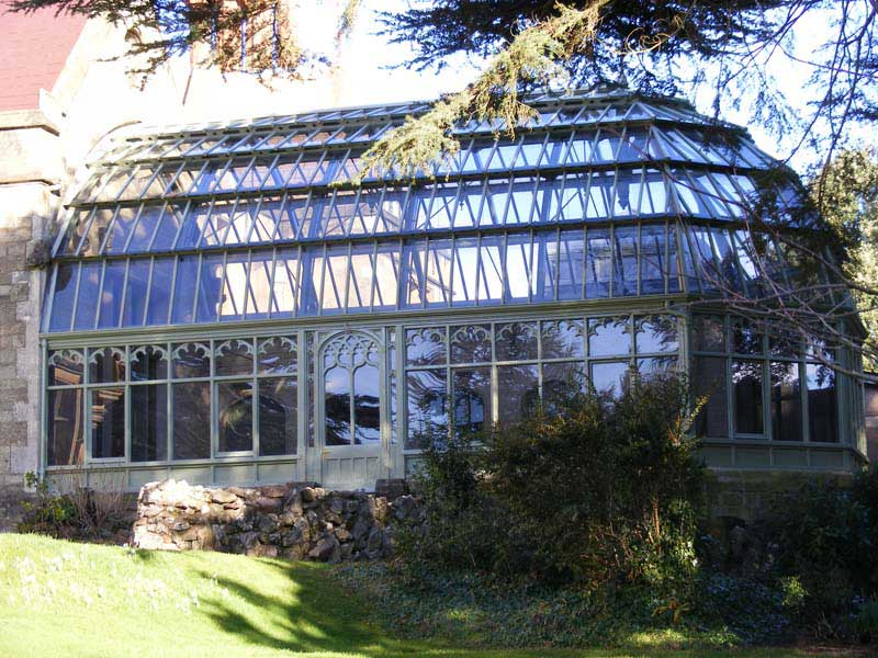 Priory Mansion Glass House