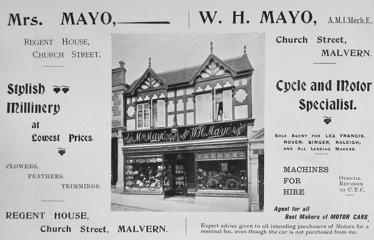 William Mayo's shop
