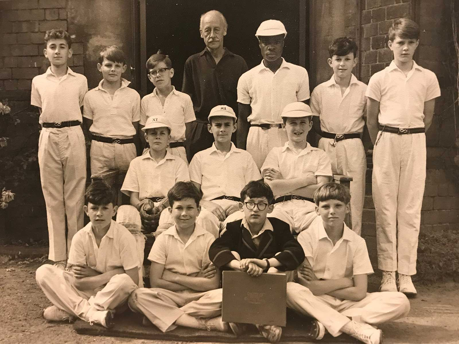 Link School cricket team about 1964