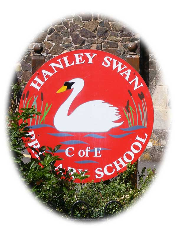 Hanley CE School sign 2012
