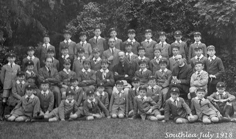 Southlea pupils about 1918