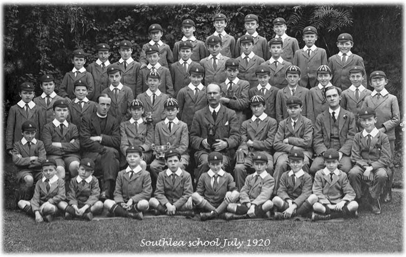 Southlea pupils about 1920