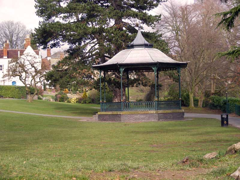 Priory Park bandstand