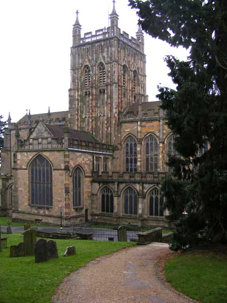 The Priory Church of St Mary and St Michael